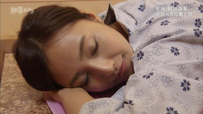 【寝顔キャプ画像】マジでタレントさん達の寝顔って可愛いですよねw 18