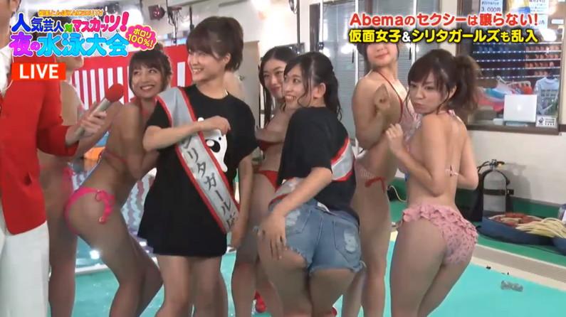 【お尻キャプ画像】テレビでエロいお尻映されちゃった美女達w 20